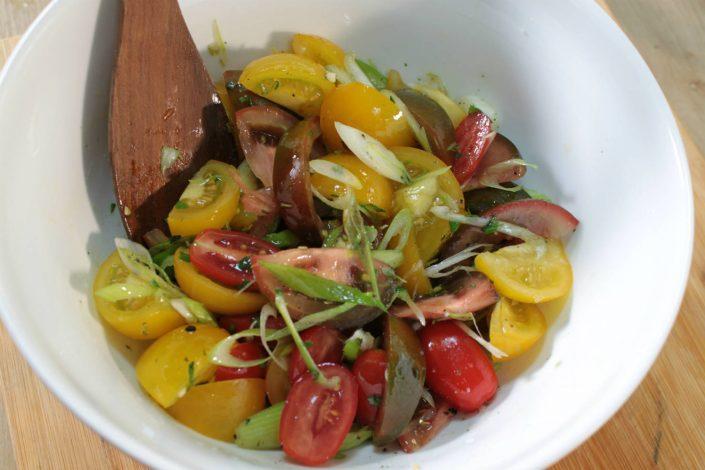 Tomatensalat-fertig
