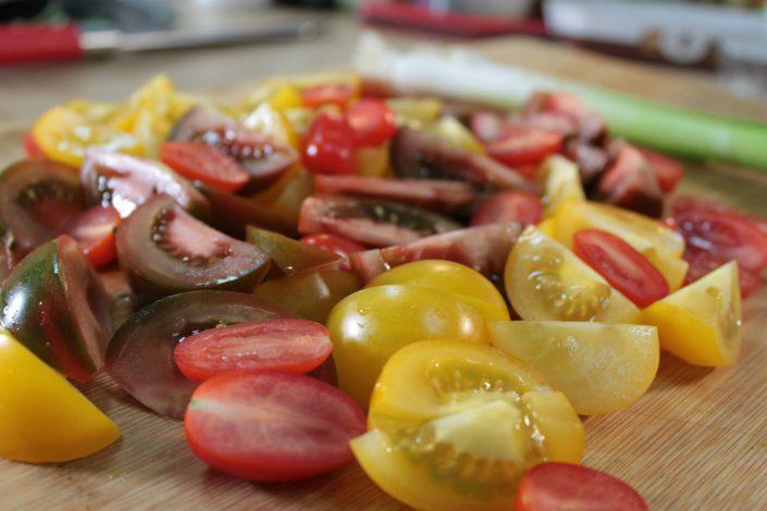 Tomatenspalten