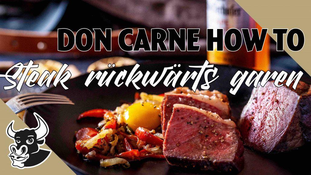Steak-rückwärts-garen