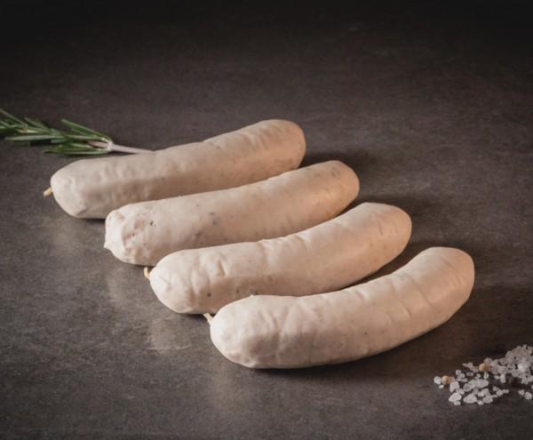 Duroc Weißwurst bayerische Art