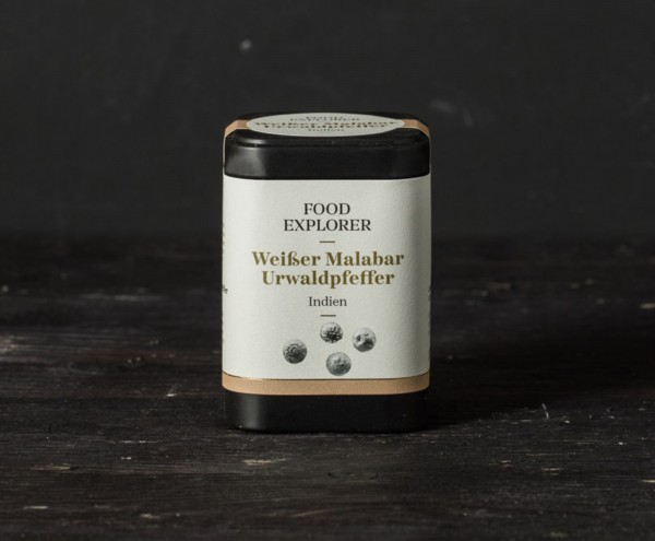 Weißer Malabar Urwaldpfeffer