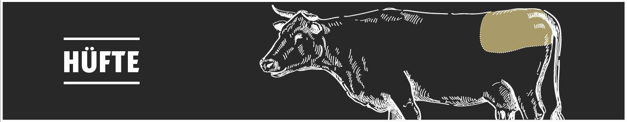 Rinderhüfte online kaufen bei Don Carne.de » Nur allerbeste Qualität ✔ Sichere & schnelle Lieferung ✔ Kontrollierte und zertifizierte Herkunft ✔ Kostenloser Versand ab 99€ Bestellwert ✔