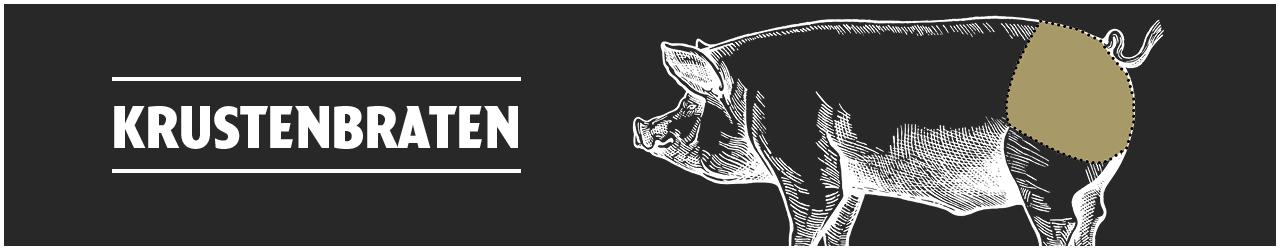 Krustenbraten  online kaufen bei Don Carne.de » Nur allerbeste Qualität ✔ Sichere & schnelle Lieferung ✔ Kontrollierte und zertifizierte Herkunft ✔ Kostenloser Versand ab 99€ Bestellwert ✔