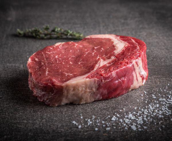 Kanadisches Black Angus Rib Eye Steak