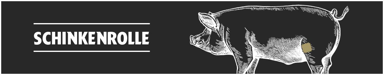 Schinkenrolle online kaufen bei Don Carne.de » Nur allerbeste Qualität ✔ Sichere & schnelle Lieferung ✔ Kontrollierte und zertifizierte Herkunft ✔ Kostenloser Versand ab 99€ Bestellwert ✔