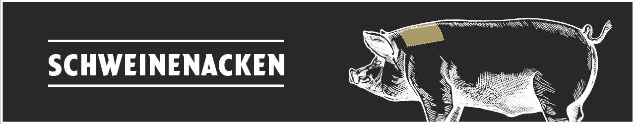 Schweinenacken online kaufen bei Don Carne.de » Nur allerbeste Qualität ✔ Sichere & schnelle Lieferung ✔ Kontrollierte und zertifizierte Herkunft ✔ Kostenloser Versand ab 99€ Bestellwert ✔