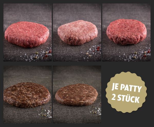 """Probierpaket """"Burger Patties"""""""