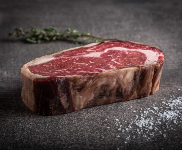 Dry Aged Rib Eye Steak Creekstone Farms