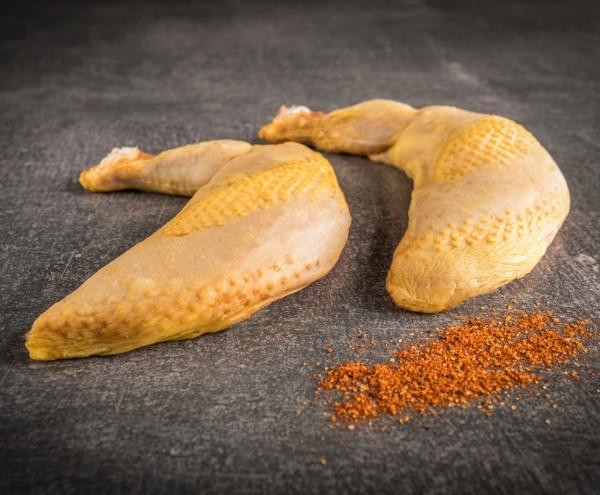 Supreme Hähnchenbrust Französisches Maishähnchen (am Knochen)