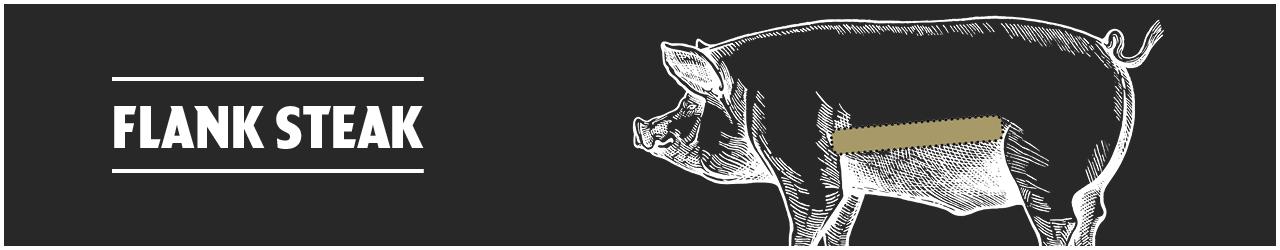 Schweine Flank Steak  online kaufen bei Don Carne.de » Nur allerbeste Qualität ✔ Sichere & schnelle Lieferung ✔ Kontrollierte und zertifizierte Herkunft ✔ Kostenloser Versand ab 99€ Bestellwert ✔