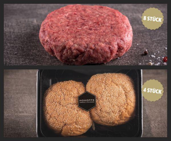 """""""Dry Aged Burger"""" Paket für 4-8"""