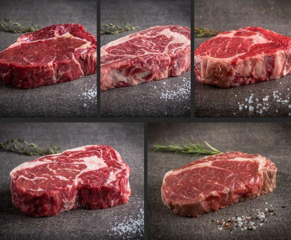 """Probierpaket """"Entrecote/Rib Eye Steaks"""""""