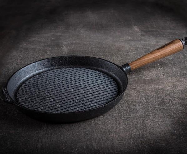 Skeppshult Grillpfanne aus Gusseisen | Ø 28 cm