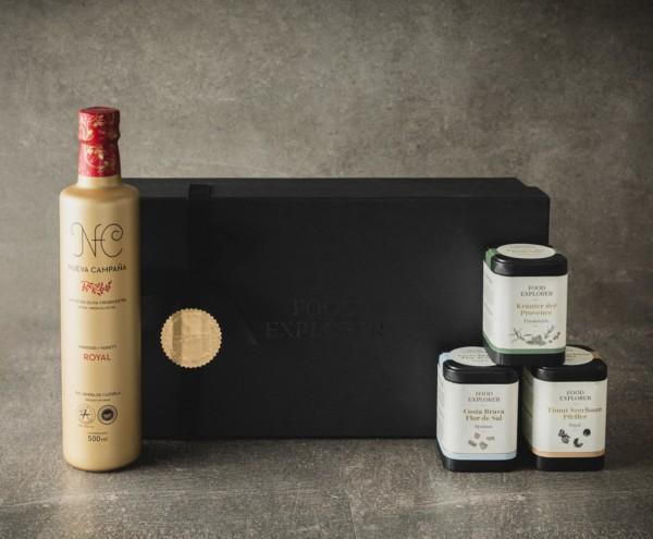 Geschenkbox 'Gourmet Gewürze'