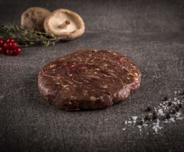 Estischer Elch Burger Patty