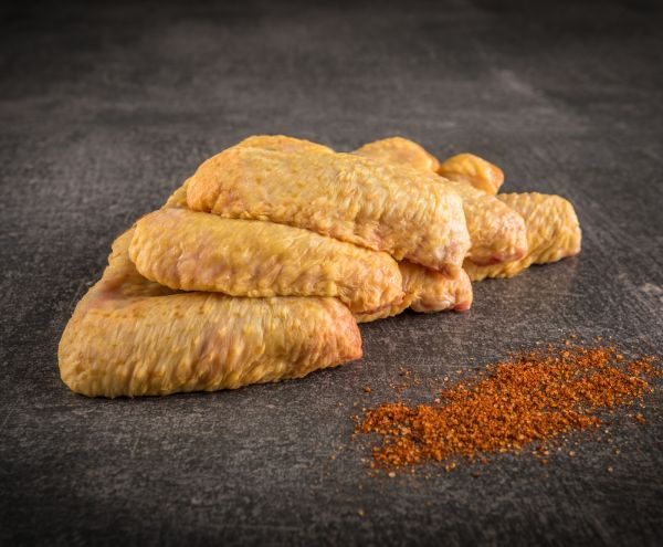 Chicken Wings Französisches Maishähnchen